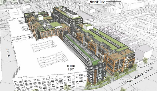 Boundary Companies, JBG Propose 691-Unit Mixed-Use Project for Eckington: Figure 1