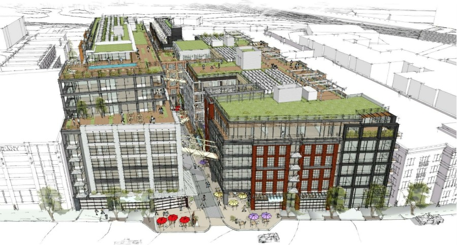 Boundary Companies Jbg Propose 691 Unit Mixed Use Project