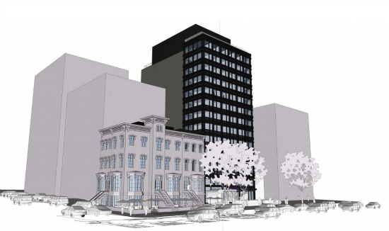 Micro-Unit Hotel Proposed near Mount Vernon Square Would Have No Parking: Figure 2