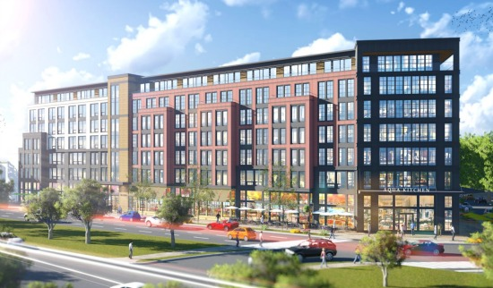 180-Unit Mixed-Use Development Planned For Hill East: Figure 1