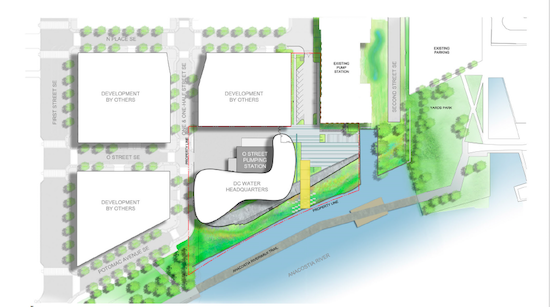 More Development to Navy Yard: DC Water Proposes New HQ: Figure 2