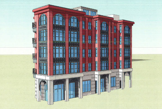 21-Unit Residential Project on the Boards Across From Petworth Metro: Figure 1
