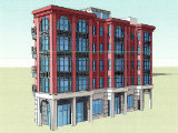 21-Unit Residential Project on the Boards Across From Petworth Metro