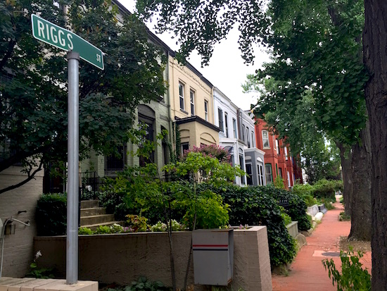 DC's Hidden Places: Riggs Street: Figure 1