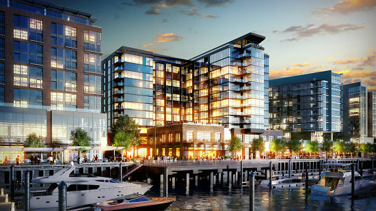Inside Two Residential Buildings Planned at The Wharf: Figure 1