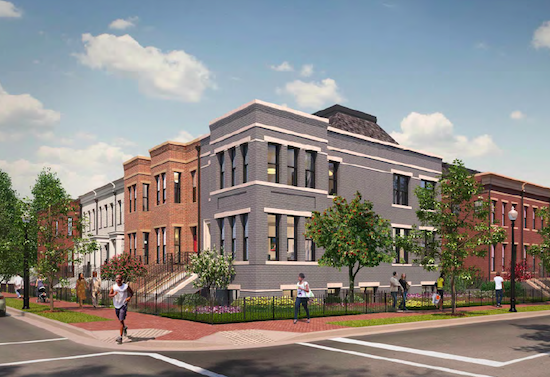 Capitol Hill Schoolhouse-to-Residential Conversion Gets Approval: Figure 1