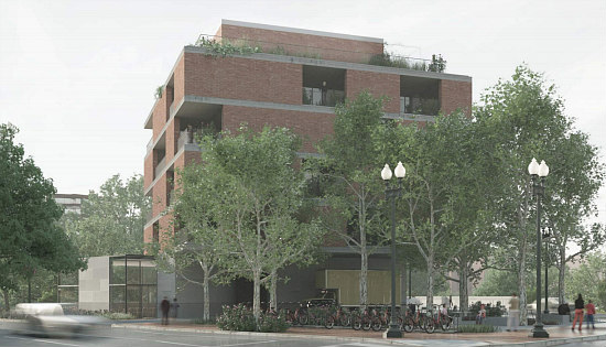 New Renderings For Eastbanc's 7-Unit Project on the Edge of Georgetown: Figure 3