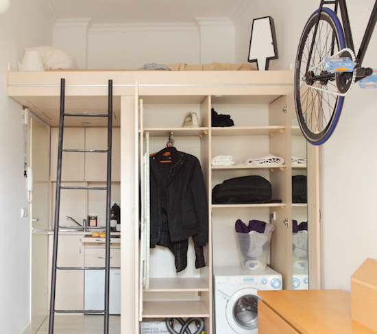 How To Make a 140 Square Foot Apartment Functional: Figure 3