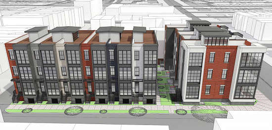Family-Sized Flats On The Boards For Columbia Heights: Figure 2