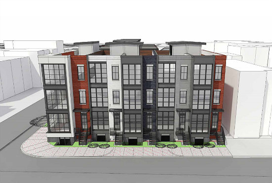 Family-Sized Flats On The Boards For Columbia Heights: Figure 1