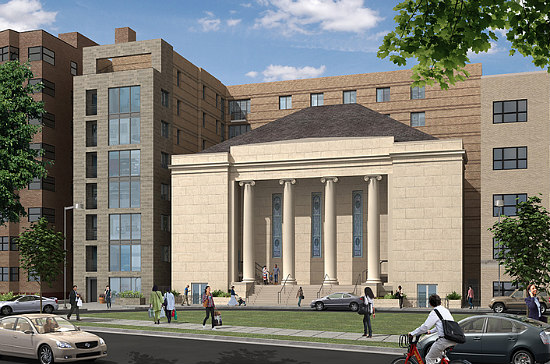 85-Unit Mount Pleasant Church Conversion Aims For 2016 Delivery: Figure 1