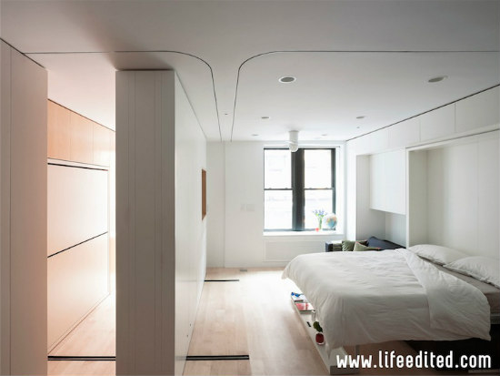 movable wall in the life edited apartment