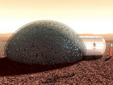 A Home Designed For Living on Mars