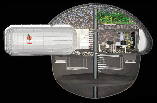 A Home Designed For Living on Mars: Figure 2
