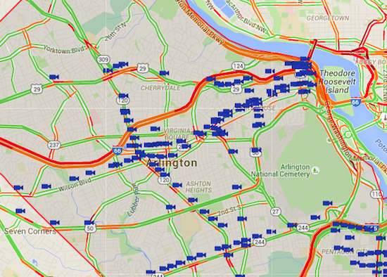 Arlington Launches Website For Real-Time Traffic Monitoring: Figure 1
