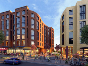 Three Schools 290 Units And A Grocery Store Georgetown Day School Files Pud For Redevelopment
