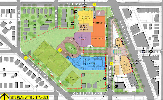 Three Schools, 290 Units and a Grocery Store: Georgetown Day School Files PUD For Redevelopment: Figure 4