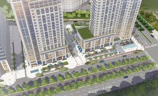 330-Unit Apartment Building Planned For White Flint: Figure 1
