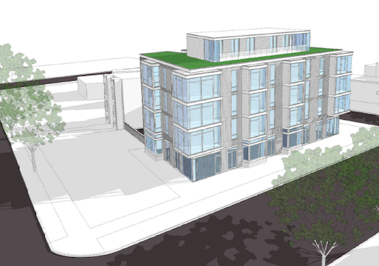 22-Unit Condo Project Planned For South End of Barracks Row: Figure 1