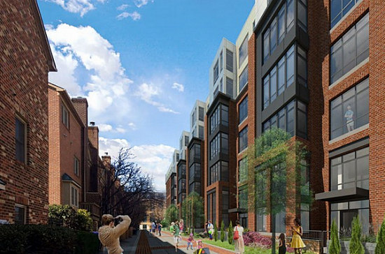 Arlington County Board Looks to Approve 173-Unit Apartment Project on Glebe Road: Figure 1