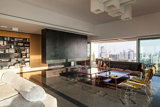 Friday Eye Candy: A Tel Aviv Penthouse Designed For a Collection: Figure 2