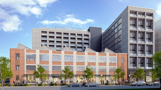 Plans Filed For Boutique Hotel, 369 Apartments Near Union Market: Figure 1