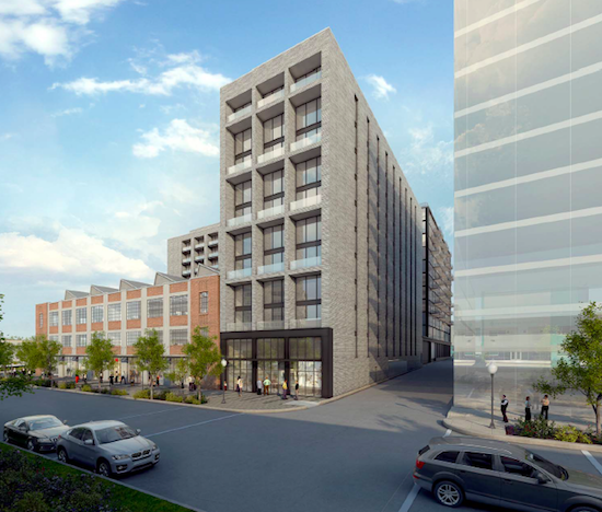 Plans Filed For Boutique Hotel, 369 Apartments Near Union Market: Figure 2