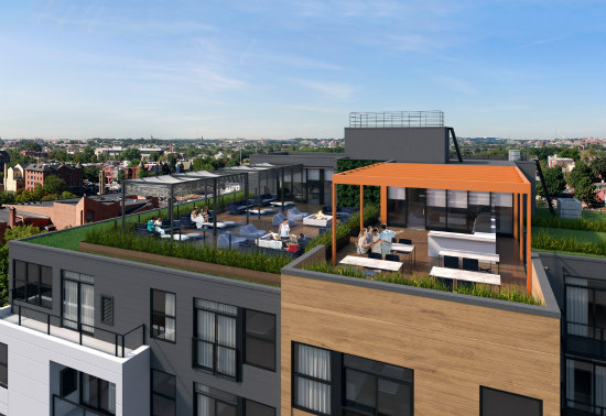 New Images For 133-Unit Mount Vernon Triangle Development, Delivery Slated for 2016: Figure 3
