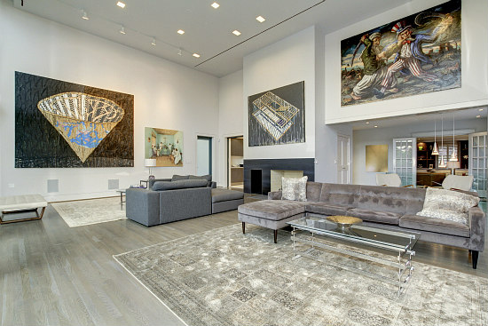 This Week's Find: Art, Wine and 6,000 Square Feet Near Observatory Circle: Figure 3
