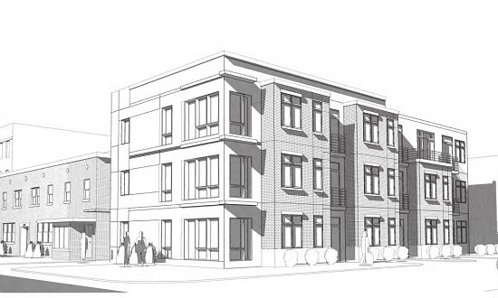 26-Unit Residential Development on the Boards For Shaw: Figure 1