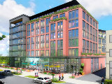 New Renderings for 180-Unit Mixed-Use Development in Hill East