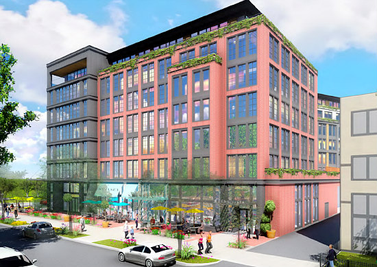 New Renderings for 180-Unit Mixed-Use Development in Hill East: Figure 2