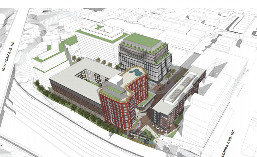 927-Unit Mixed-Use Project Planned For Union Market Area: Figure 3