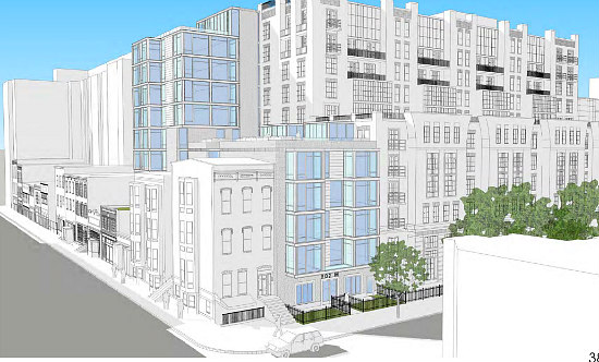 Plans Filed For 28 to 33-Unit Residential Building in Shaw: Figure 1
