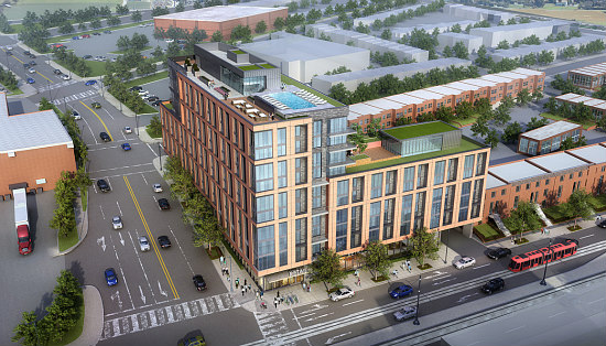 180-Unit Residential Project Coming East of the H Street Corridor: Figure 1