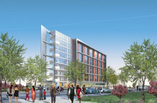 ANC Supports Workforce Housing, Net-Zero Proposals For Mount Vernon Triangle Site: Figure 1