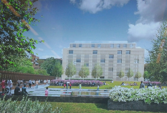 Two New Designs Unveiled for the Georgetown West Heating Plant Project: Figure 2