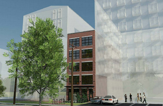 "Eight ""Stadium Lofts"" Planned For Buzzard Point: Figure 1"