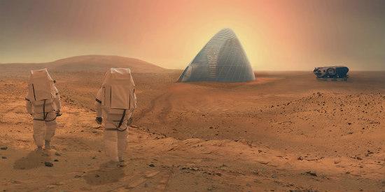 Scientists Develop Concrete For Building on Mars: Figure 1