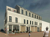 Townhomes, Retail Planned For H Street Corridor Alley Get Approval