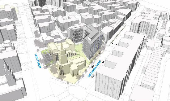 Eastbanc Updates Plans For 120-Unit Development at Scottish Rite in Adams Morgan: Figure 1