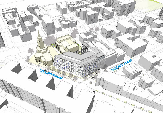 Eastbanc Updates Plans For 120-Unit Development at Scottish Rite in Adams Morgan: Figure 2