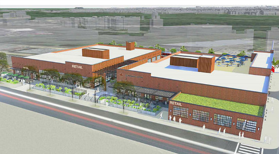New Images, Details For Ivy City Warehouse That Will House Coffee Roaster: Figure 1