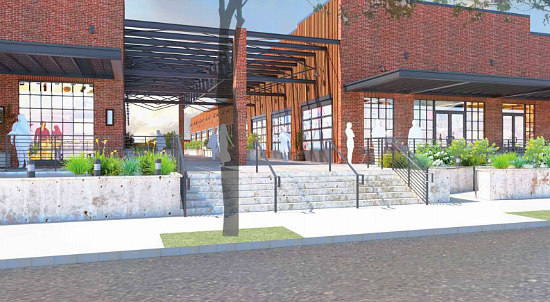 New Images, Details For Ivy City Warehouse That Will House Coffee Roaster: Figure 2