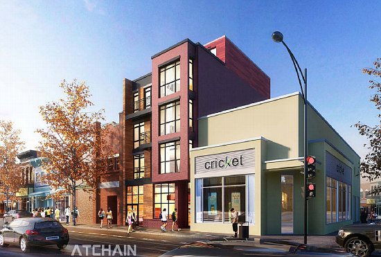 Nine-Unit Development With Restaurant Planned For H Street Corridor: Figure 1