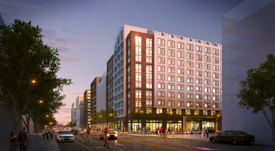 270-Unit Residential Project on the Boards For Union Market: Figure 1