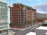 Four Points Files Plan For 66-Unit Project on Site of Shaw Church