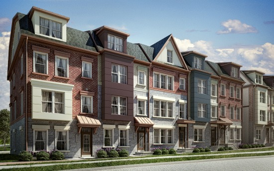 Quickly selling arlington s hottest new townhome community for Townhome layouts