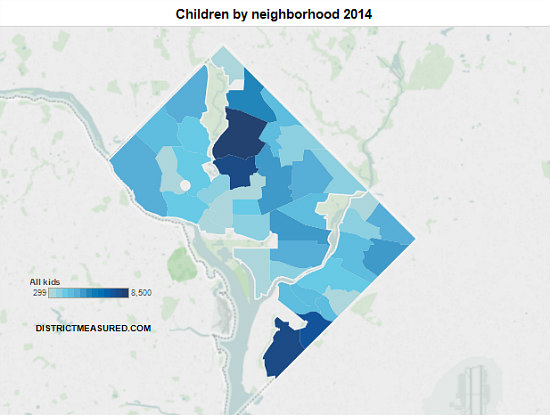 Will Petworth and Brightwood Soon Be Kid Central in DC?: Figure 1
