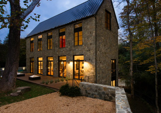 An Architect's Palisades Home Takes Inspiration From C&O Canal Lockhouses: Figure 2